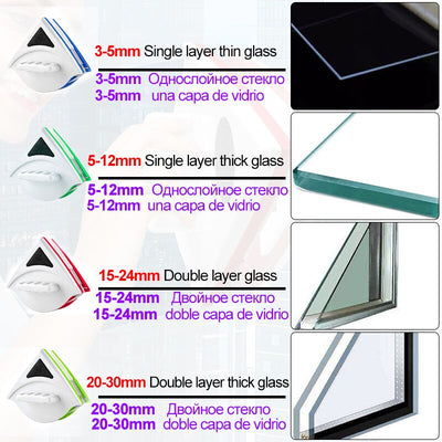 Double Side Magnetic Glass Cleaniner