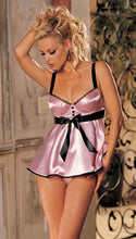 Ultra Cute Satin Babydoll Lingerie