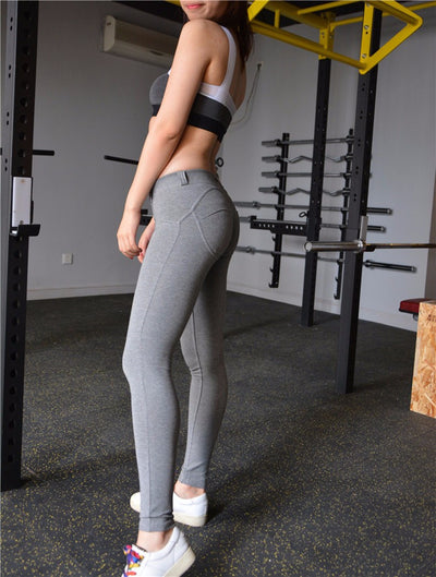 Chic and Sleek Solid Colored Leggings