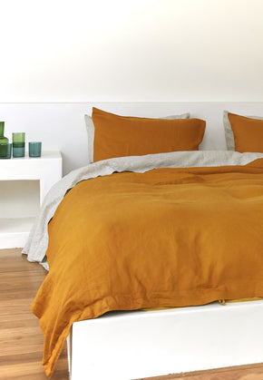 pillow slip set · gold