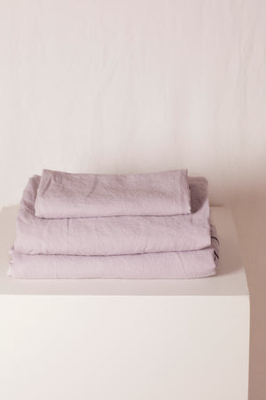 sheet set · lavender · single