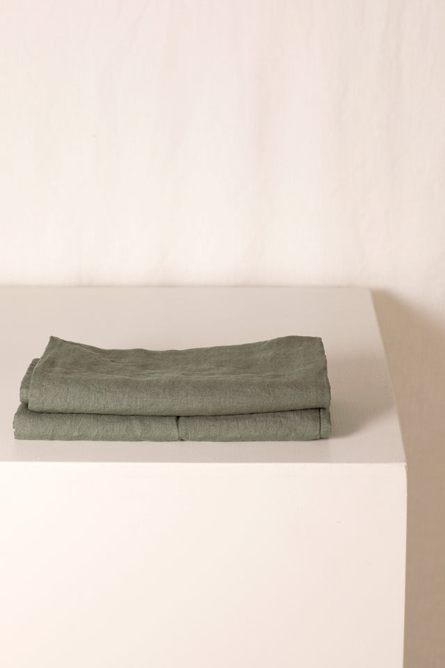 pillow slip set · seagrass