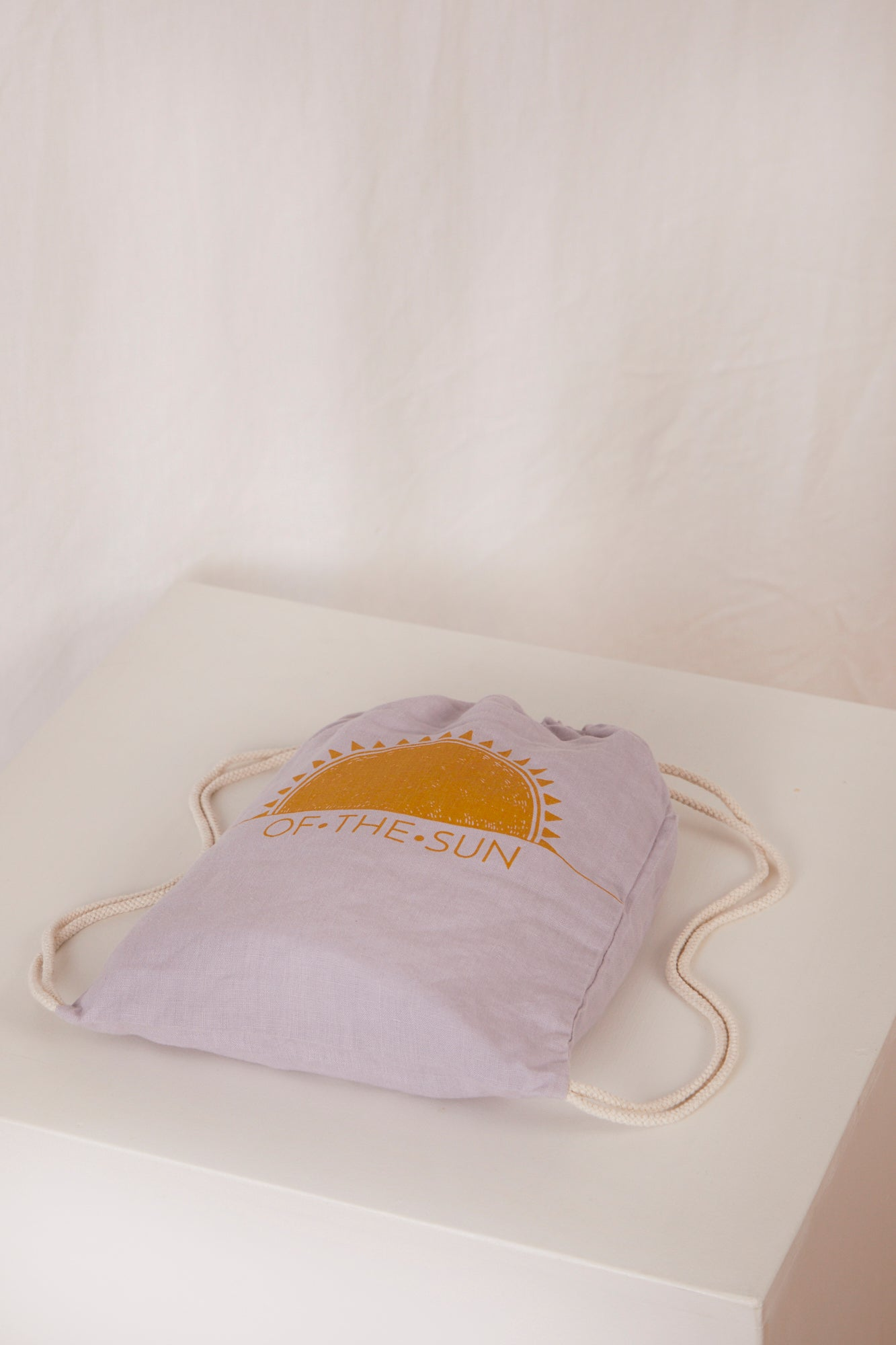 fitted cot sheet · lavender
