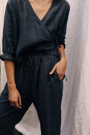 the everyday loungewear set · navy