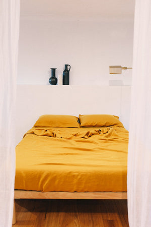 sheet set · gold · queen|king