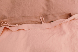 duvet set · rose & blush · queen|king