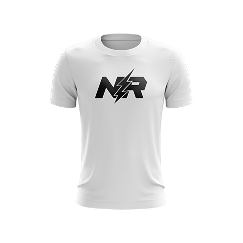 NerveRushh Original White T-Shirt
