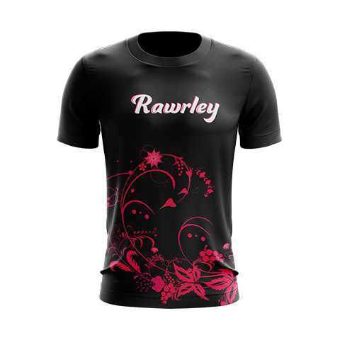 Rawrley Full Logo [blk] T-Shirt