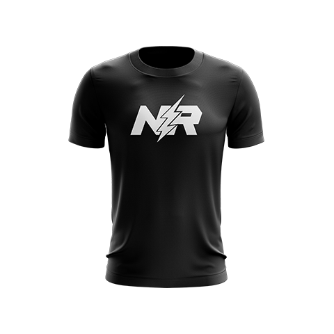 NerveRushh Original Black T-Shirt