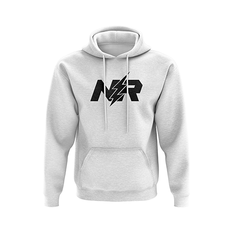 NerveRushh Original Cotton White Hoodie