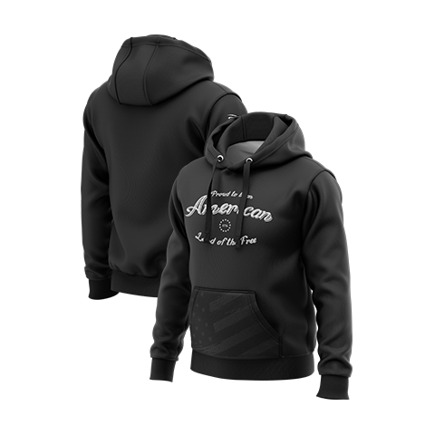 Land of the Free Pullover Hoodie