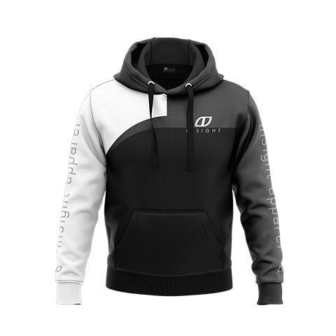 Curved Pullover Hoodie