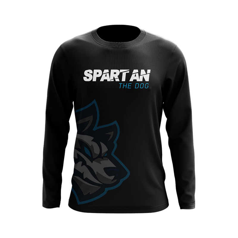 Spartan Logo Wrap Long Sleeve Shirt