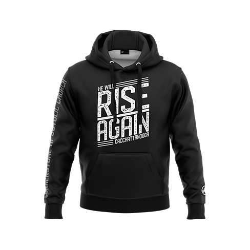 He Will Rise Again Pullover Hoodie