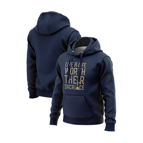 Worth Their Sacrifice Pullover Hoodie