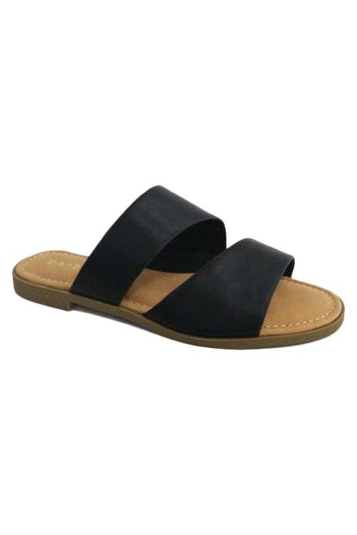 The Zara Sandal- Black