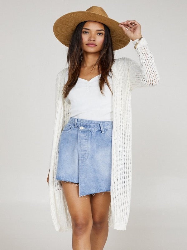 Summer Love Denim Skirt