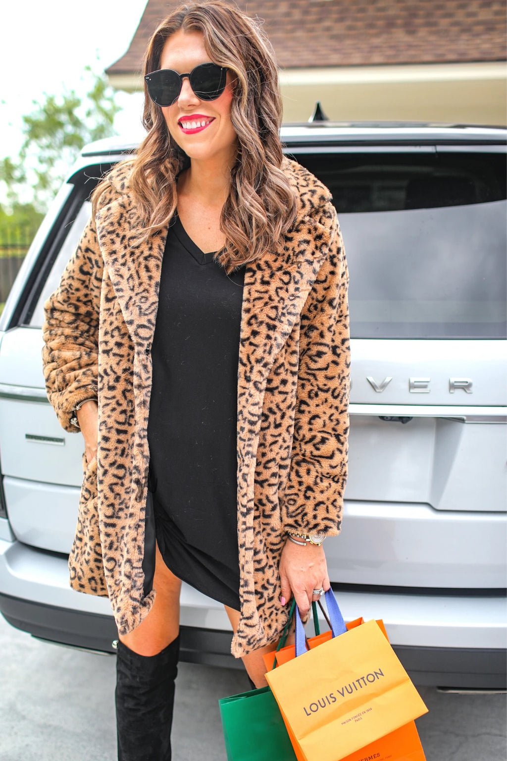 Uptown Faux Fur Coat