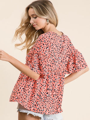 Sweet Summer Leopard Top