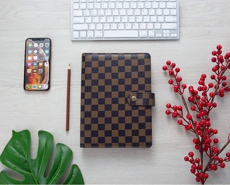 Checkered Agenda- Brown