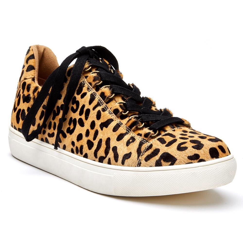 Relay Low Top Sneaker- Leopard