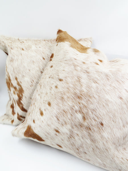 Cowhide Cushion Cover