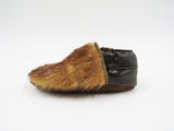 Vintage Leather & Fur Shoes