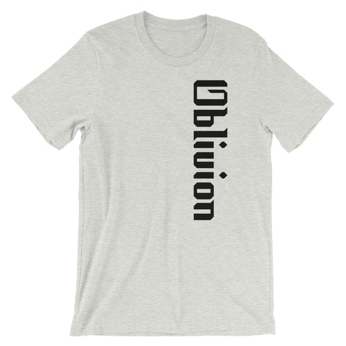 Oblivion Side Logo Short-Sleeve Unisex T-Shirt