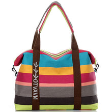 Cruise Collection: University Canvas Tote