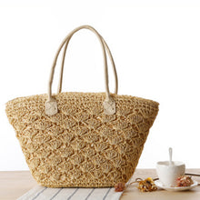Sweetie Pie Straw Tote