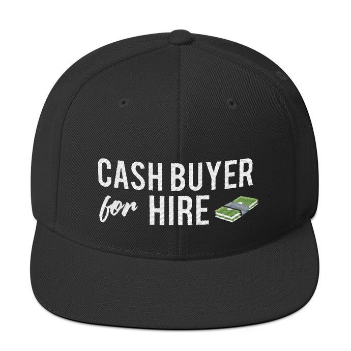 Cash Buyer for Hire Snapback