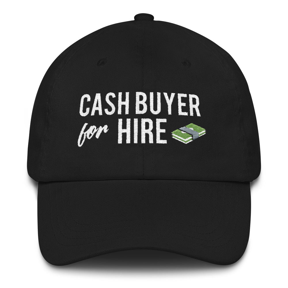 Cash Buyer for Hire cap