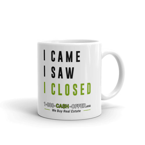 I came I saw I closed Mug