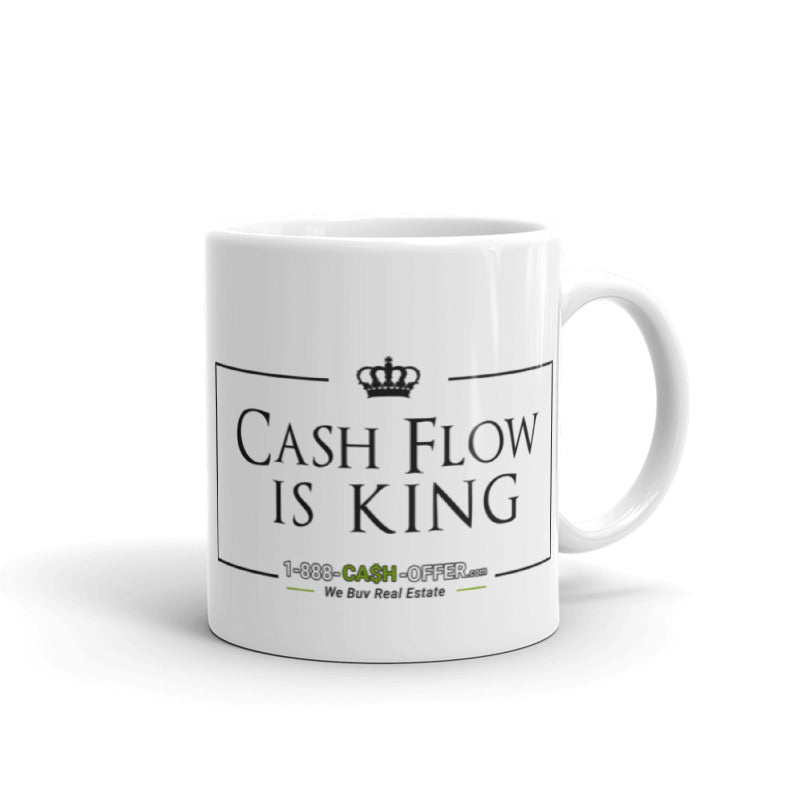 Cash Flow is King Mug