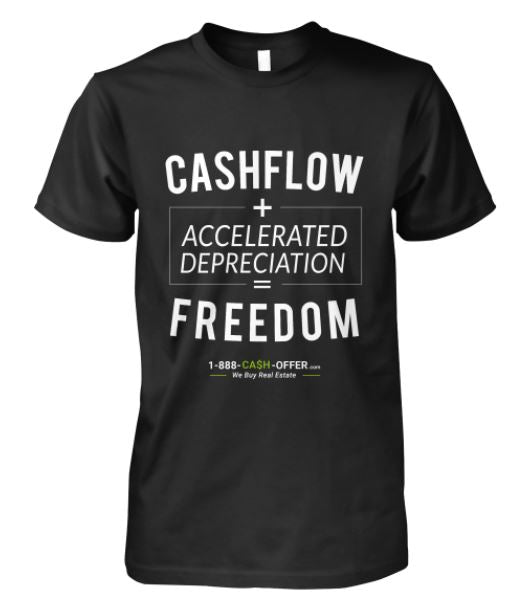 Cash Flow + Accelerated Depreciation Short-Sleeve