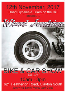 Wheel Junkies Bike and Car Show
