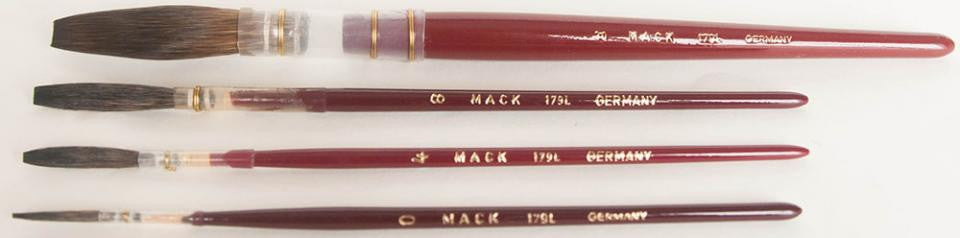 BROWN PENCIL QUILL - SERIES 179L LACQUERED