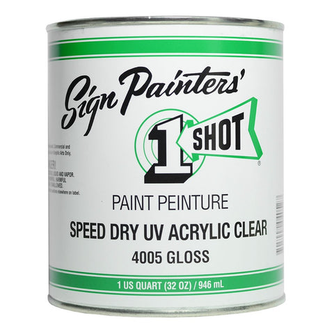 SPEED DRY UV/ACRYLIC CLEAR GLOSS 4005 - PRICES EXCLUDE GST