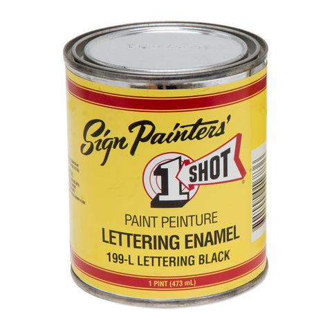 LETTERING ENAMELS PT - 473ML - PRICES EXCLUDE GST