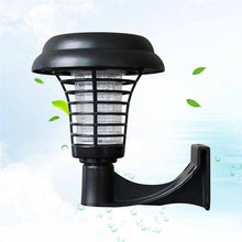 Wall Mounted Solar UV LED Mosquito Zapper - Solar Statues