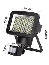 120 SMD LED Solar Sensor Light - Solar Statues