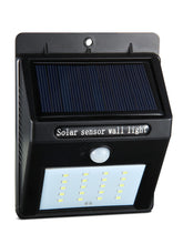 20 LED Solar Powered Motion Sensor Lights (Set of 2) - Solar Statues