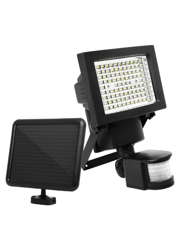 100 LED Ultra Bright Motion Detection Solar Flood Light - Solar Statues