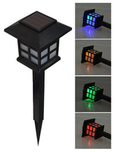 Solar LED Outdoor Pathway Lantern - Solar Statues