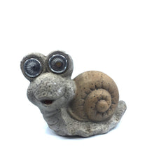Garden Snail with Solar Eyes - Solar Statues