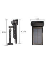 1500LM PIR Motion Sensor Solar Wall Light - Solar Statues