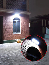 Arc Shaped Solar LED Motion Sensor Outdoor Wall Light - Solar Statues