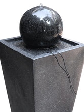 Solar Fountain Ball Water Feature - Solar Statues