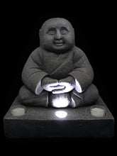 Buddha Monk with Solar Light - Solar Statues