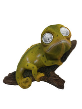 Chameleon with Solar Eyes - Solar Statues